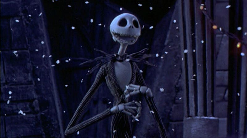 you wont see snow in la but you will see this guy image disney tim burtons the nightmare before christmas - Voice Of Jack Nightmare Before Christmas