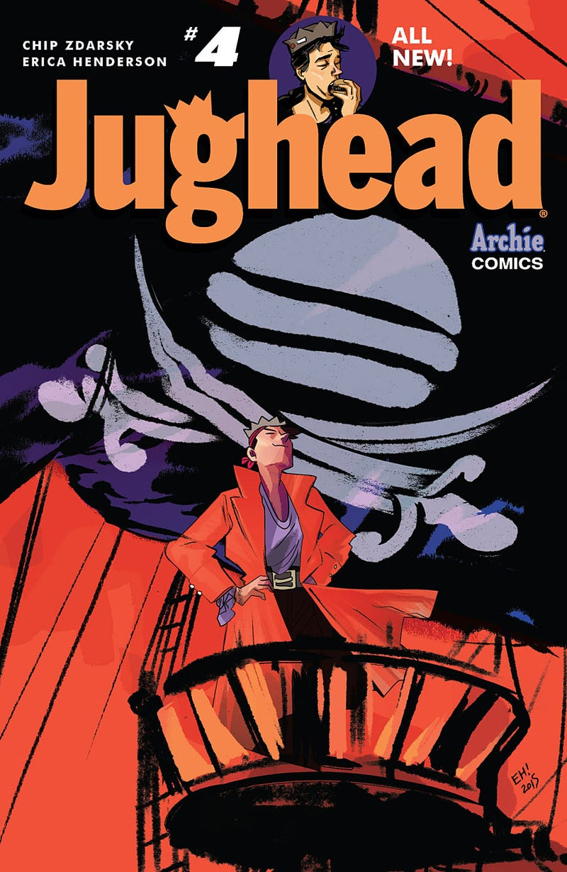 Illustration for article titled Jughead #4 Reveals One Character's Asexuality