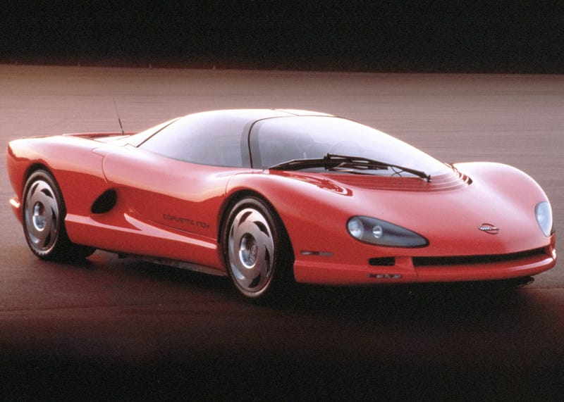 Illustration for article titled 1986 Corvette Indy