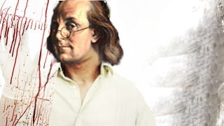 Illustration for article titled Why were 10 dead bodies found in Benjamin Franklin's basement?