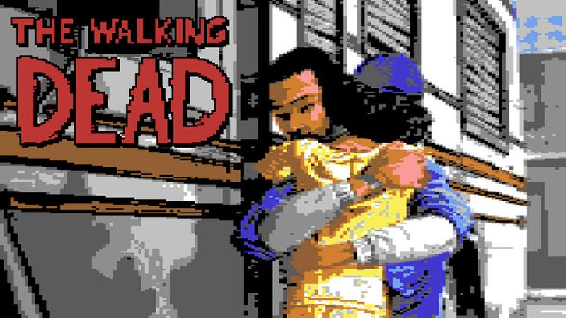 Illustration for article titled I Would Play The C64 Version Of The Walking Dead Until The End Of Days