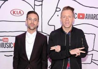 Ryan Lewis (L) and MacklemoreDimitrios Kambouris/Getty Images