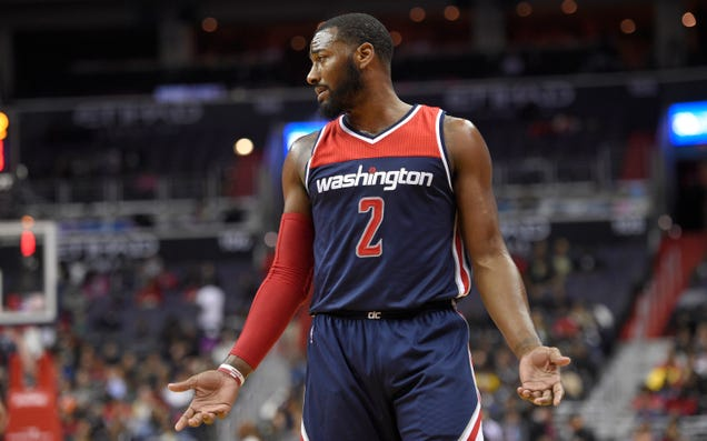 John Wall Ejected After Bumping Official