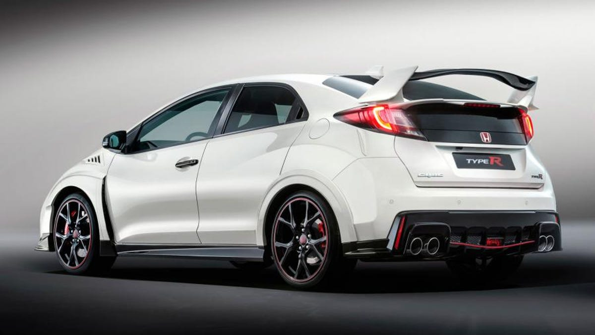 the 2016 honda civic type r is 310 hp worth of turbo vtec craziness
