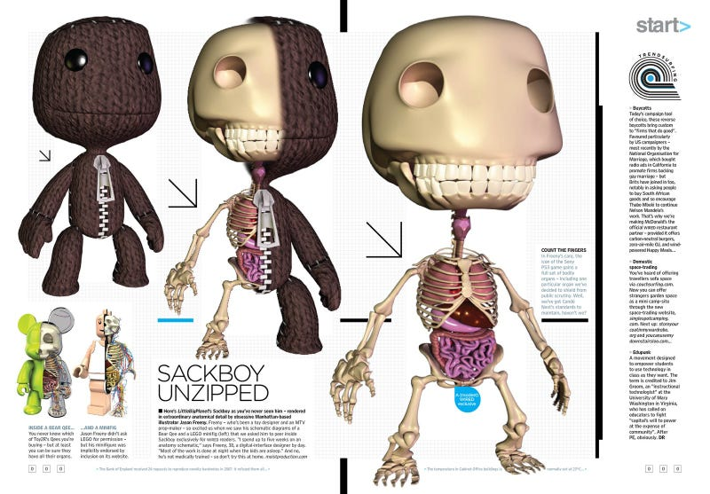 Illustration for article titled The Brilliance Of Sackboy, Unzipped