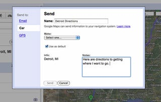 Illustration for article titled Send Google Maps Directions To Your Ford For Free