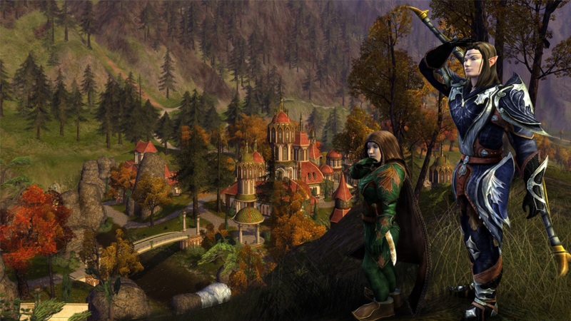 The currently-still-active other Lord of the Rings MMO, Lord of the Rings Online, first launched in 2007.
