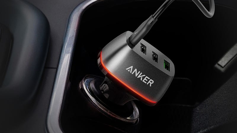 Anker PowerDrive+ 4, $24 with code MULTI777