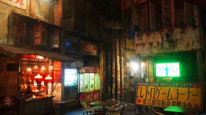 hong kong s infamous kowloon walled city rebuilt as amusement park