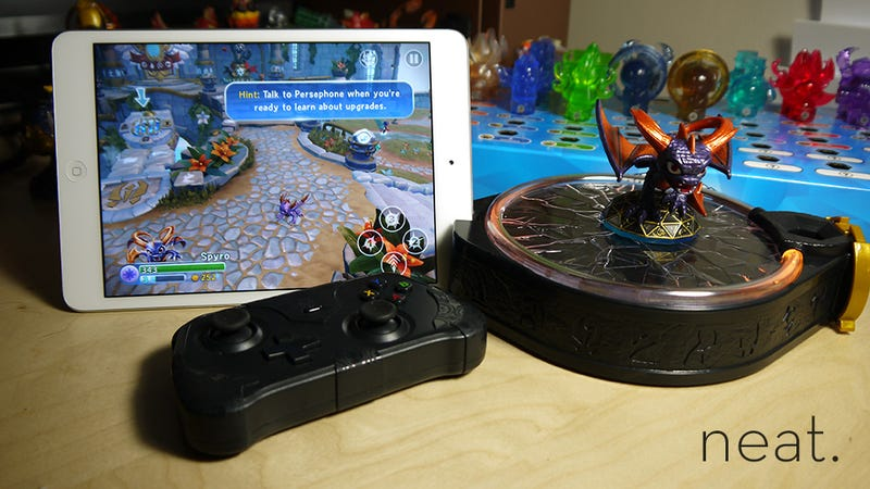 skylanders trap team tablet edition