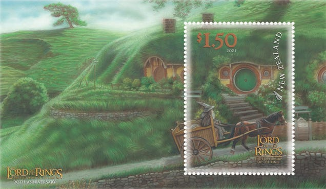 New Lord of the Rings Stamps Will Get Your Mail to Mordor