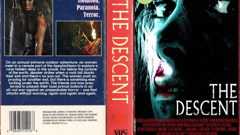 Illustration for article titled Modern horror movies get retro VHS covers