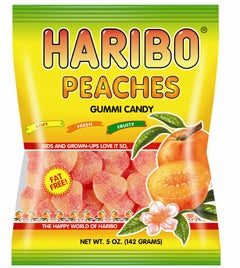 Illustration for article titled Today's Gummi: Haribo Peaches