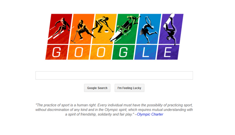 Illustration for article titled Today's Google Doodle is Particularly Awesome and Timely