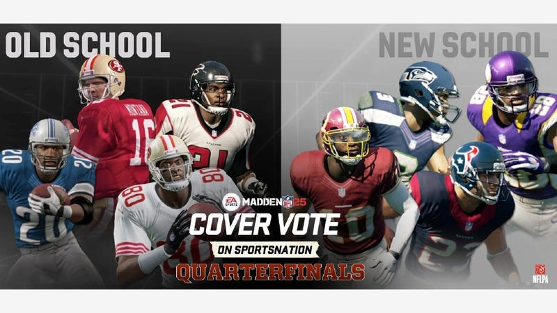 Illustration for article titled Madden's Cover Vote Sees Two Nominal Upsets, but the Favorites Still Rule