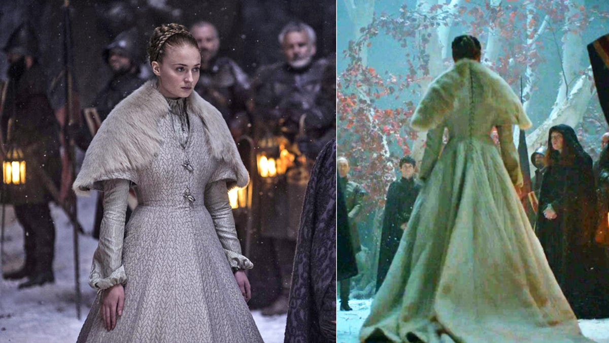 The Sad Wedding Dresses of Game of Thrones\' Most Miserable Brides