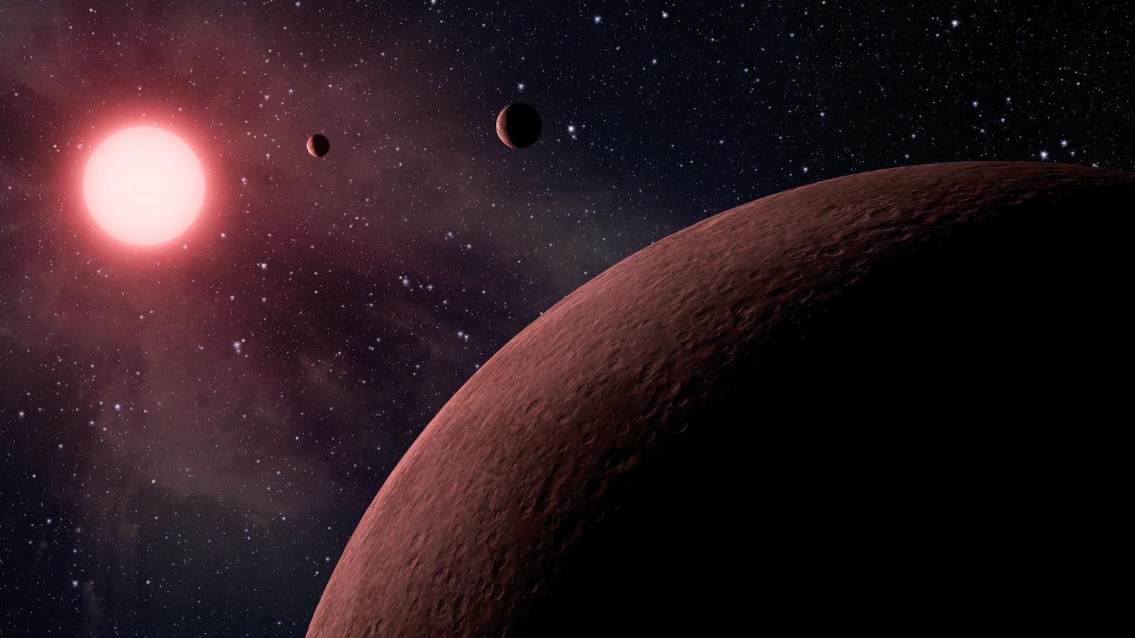 La NASA anuncia el descubrimiento de diez nuevos exoplanetas que podrían ser habitables