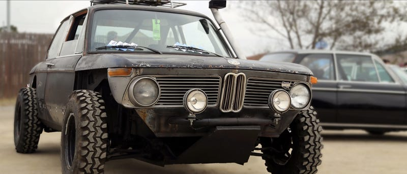 Bmw Origin >> See The Origin Story Of This Off Road Rat Finky Bmw 2002