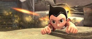 Illustration for article titled Astro Boy: Subversive, Awesome Flying-Robot Action