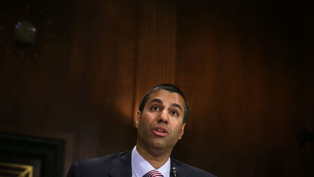 Ajit Pai Is Getting Grilled for Misleading Congress Over Imaginary Cyberattack