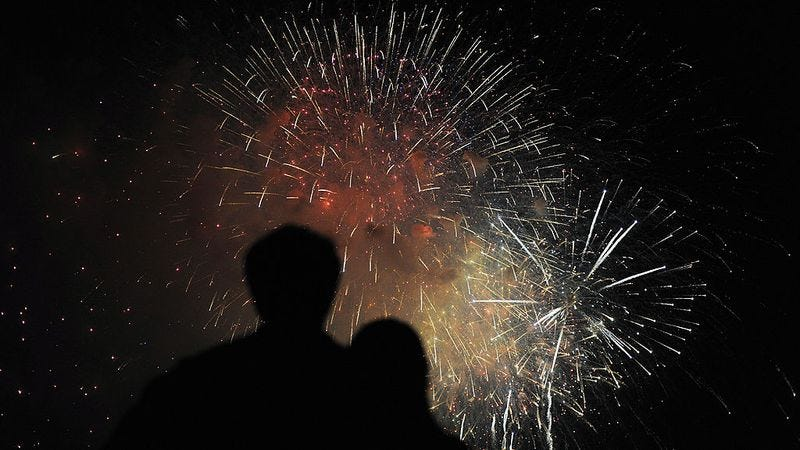 Independence Day 2016 fireworks at the National Mall (Photo: Jewel Samad/Getty Images)