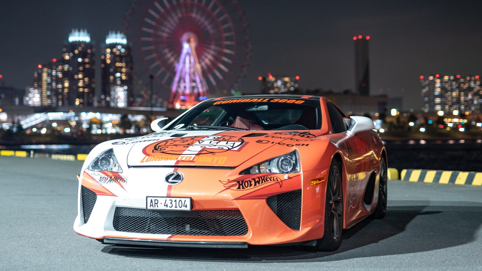 Gumball 3000 Route 2021