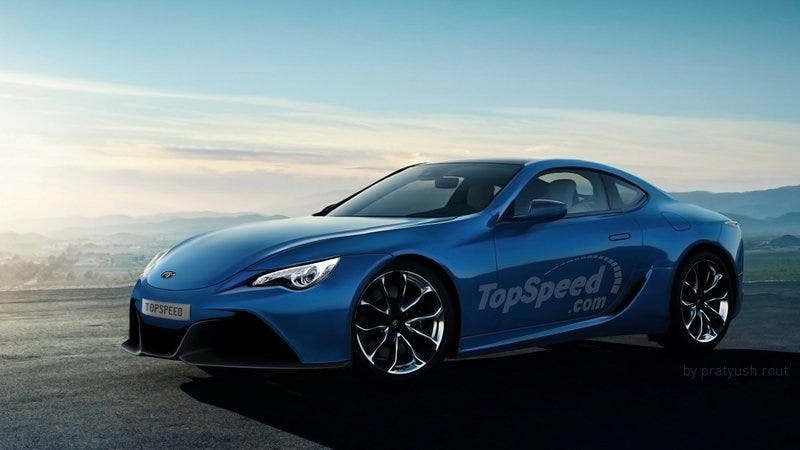"""Illustration for article titled Why Does Everyone Want Toyota to Call Their Z4 Coupe a """"Supra?"""""""