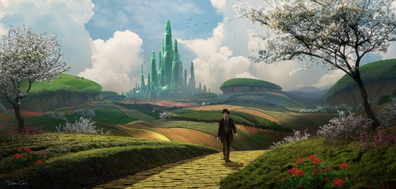 Illustration for article titled Oz:  The Great and Powerful concept art is lovely in its whimsical simplicity