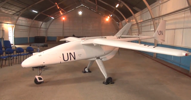 Illustration for article titled Even the U.N. Is Using Drones to Spy on People Now