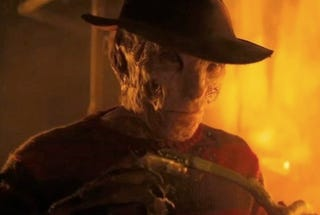 Illustration for article titled First Nightmare On Elm Street Clip Shows Off Freddy's Brand New Face