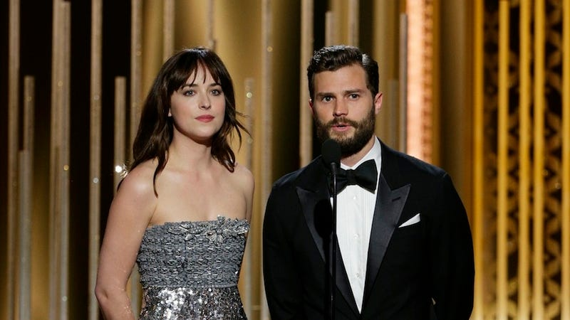 Illustration for article titled Double Crap: Fifty Shades of Grey Stars Can't Fucking Stand Each Other