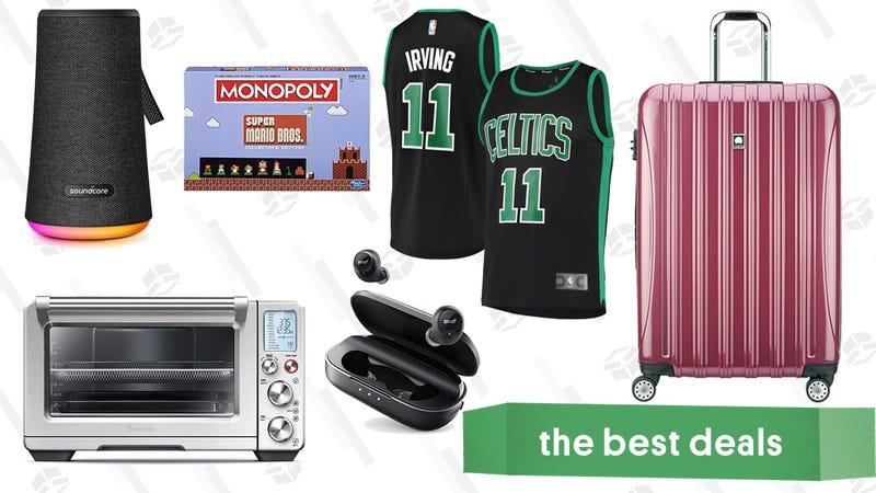Illustration for article titled Saturday's Best Deals: Fanatics, BioBidet, Breville Smart Oven, and More