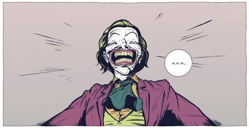 Illustration for article titled Stellar fan comic writes a poetic, brutal end for Batman and the Joker