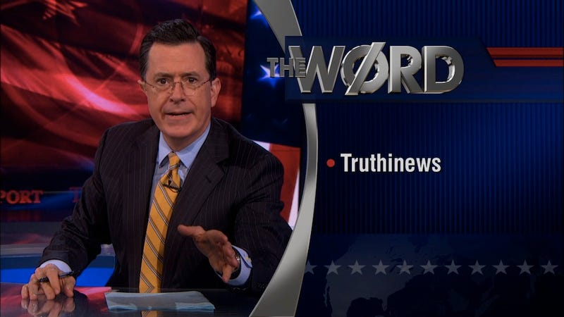 Illustration for article titled Stephen Colbert Will Replace Letterman as Host of The Late Show