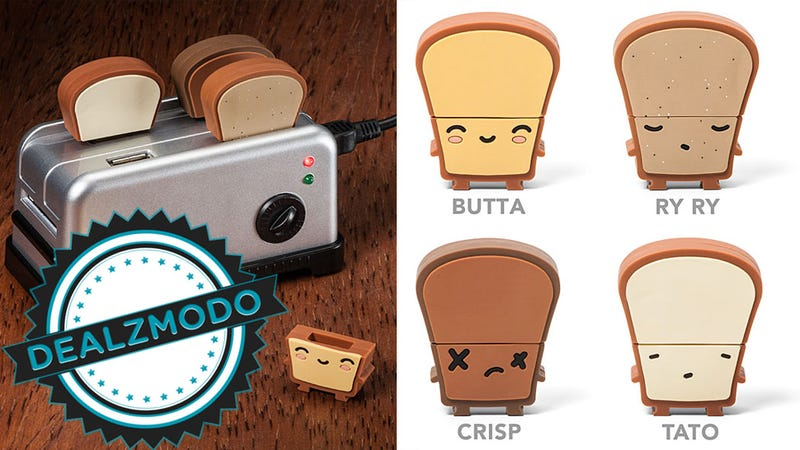 Illustration for article titled This Tiny Toaster USB Hub Is Your Adorable Novelty Deal of the Day