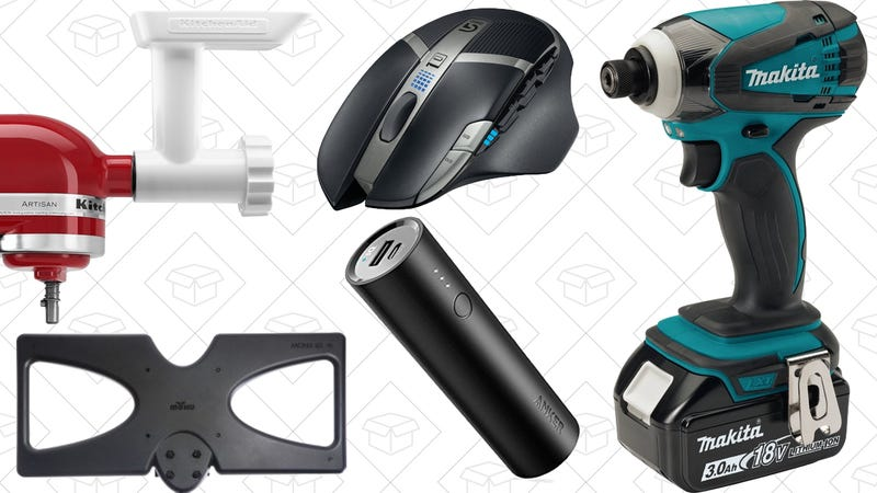Illustration for article titled Today's Best Deals: Anker Charging Gear, Logitech Gaming Mouse, Mohu Antenna, and More
