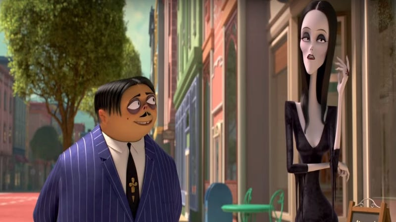 Illustration for article titled The Addams Family is still freaking out the normies in its first full-length trailer