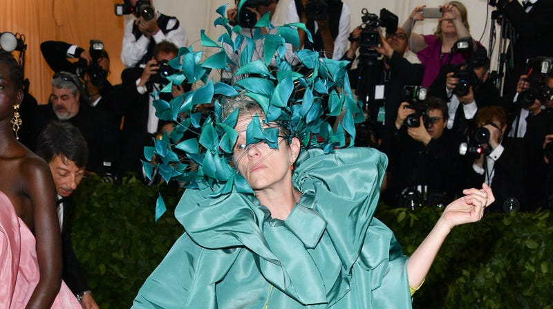 McDormand, looking suitably ineffable at a Met gala earlier this year.