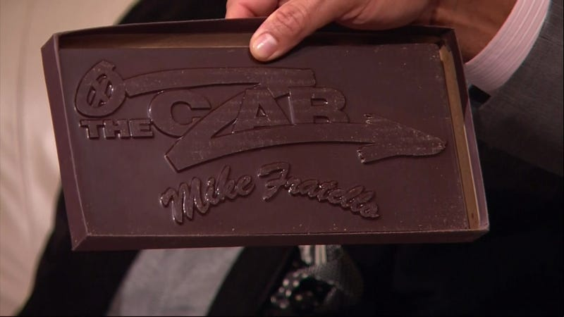 Illustration for article titled The Czar Of The Telestrator Has His Own Custom-Branded Chocolate Bars