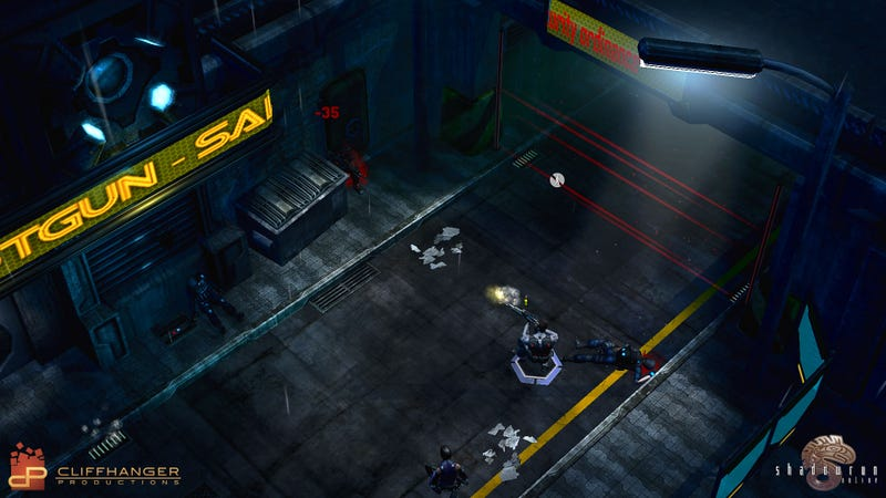 Illustration for article titled Three More Screenshots of the new Shadowrun Game