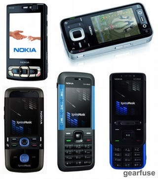 Illustration for article titled Nokia Set to Release a Whole Slew of New Phones
