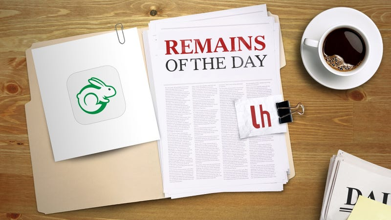 Illustration for article titled Remains of the Day: TaskRabbit Promises to Complete Certain Tasks in 90 Minutes