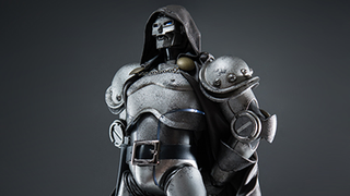 Illustration for article titled Holy crap, this Doctor Doom figure is magnificent