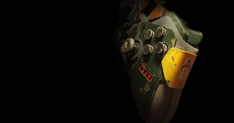Illustration for article titled Look At This Boba Fett Controller