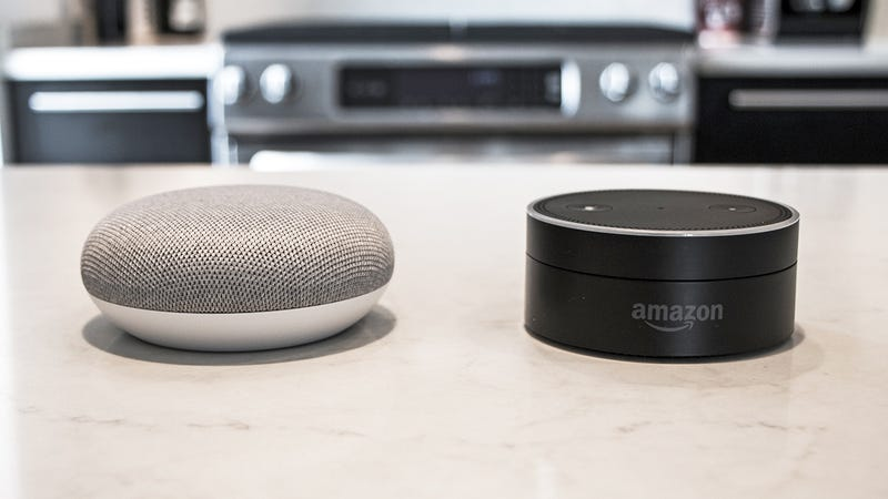 google home o amazon alexa