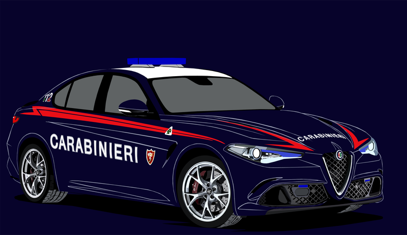 Illustration for article titled Carabinieri Nucleo Radiomobile