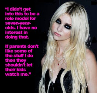 Illustration for article titled Taylor Momsen Is The Charles Barkley Of Our Time