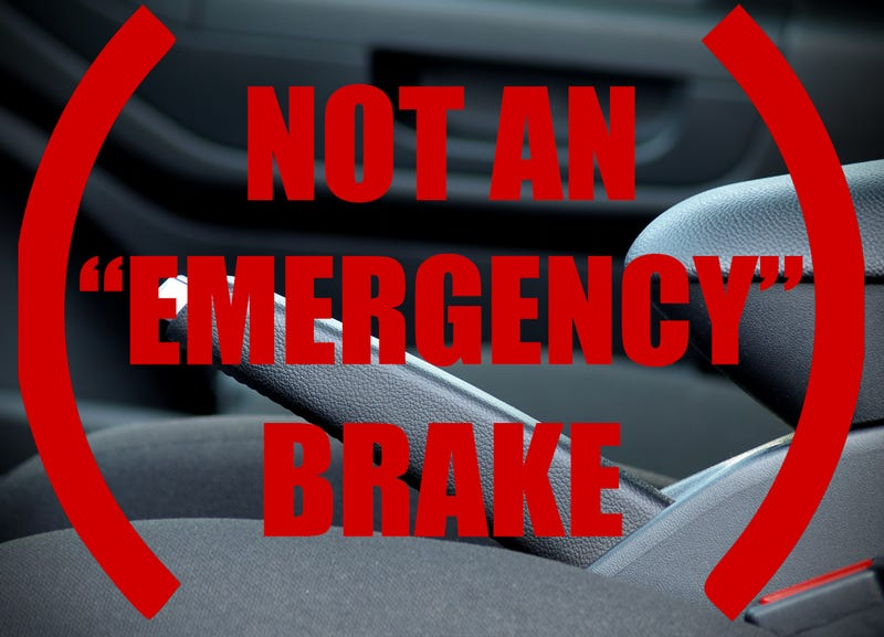 """Illustration for article titled Its Not An """"E"""" Brake"""