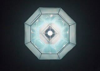 Illustration for article titled These Faceted Lamps Mimic the Molecular Structure of Crystals