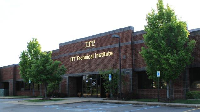 Rest In Peace ITT Tech, You
